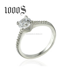 Silver Fashion Vagina Ring 925 Sterling Silver Wedding Diamond Engagement Wholesale Jewelry