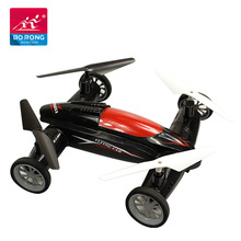 2018 children 2.4G rc helicopter quadcopter toys drive flying car drone with camera