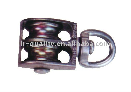 Die Casting Double Pulley With Swivel,
