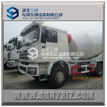 Shacman 6X4 336hp 8cbm 9cbm 10cbm portable volumetric electric concrete mixer tank truck