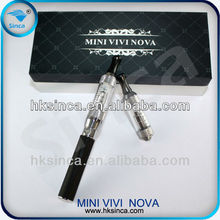 2.5 ml volum vision atomizer hookah pen mini vivinova eGo starter kit with the costly fashional design,natural taste