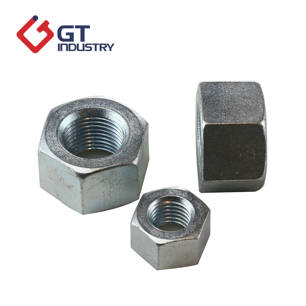 DIN 934 Carbon Steel <strong>M10</strong> hex nuts with <strong>zinc</strong> plated