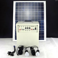 2 years warranty portable solar energy generator system 50w