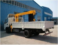 Right steering 3.5 tons lifting crane truck