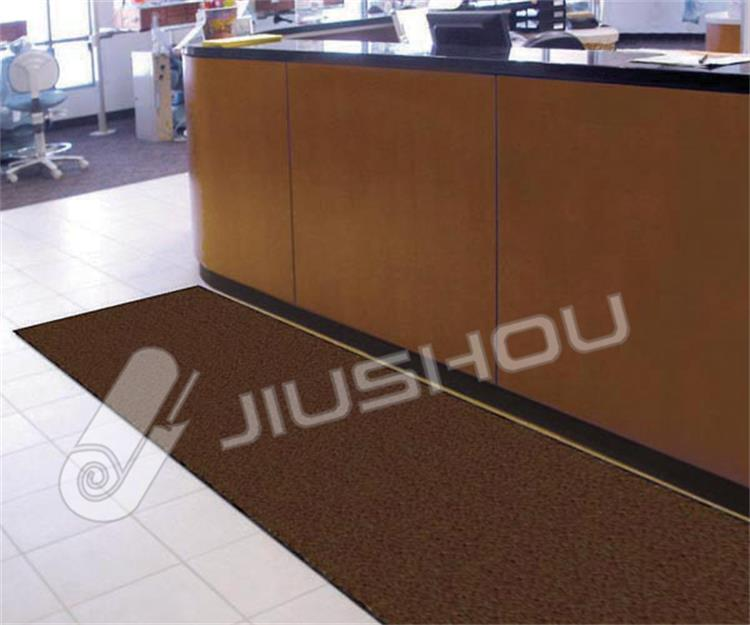 Microfiber floor mat anti-slip cut pile nylon kitchen floor mats for manufacturer china hotel