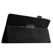 Classic stand PU leather tablet case for Samsung Tab E 8.0