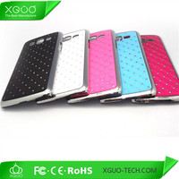 aluminum diamond snap on back cover case for samsung galaxy grand 2 g7106