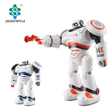 Intelligent RC Robot Programmable Walking Dancing Combat Armor Battle educational Robot Remote Control Toys For Child Gifts