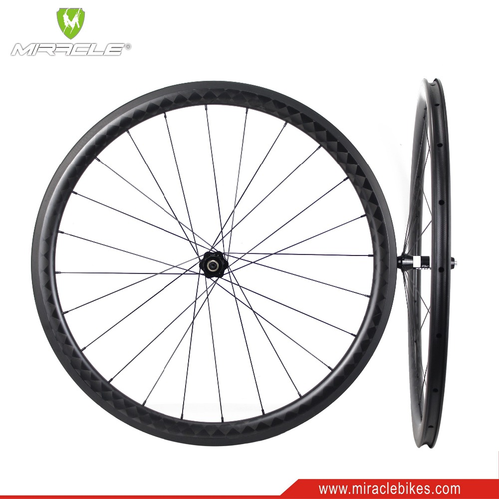 40mm Tubular rims carbon wheels hot sale 24 inch carbon bicycle wheels high quality road bike wheels