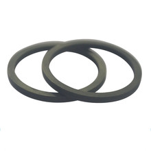 New design 50-55 shore A silicone /SIL black rubber o-ring /rubber gasket