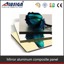 Wall decoration panel PVDF coated ACP mirror protective film
