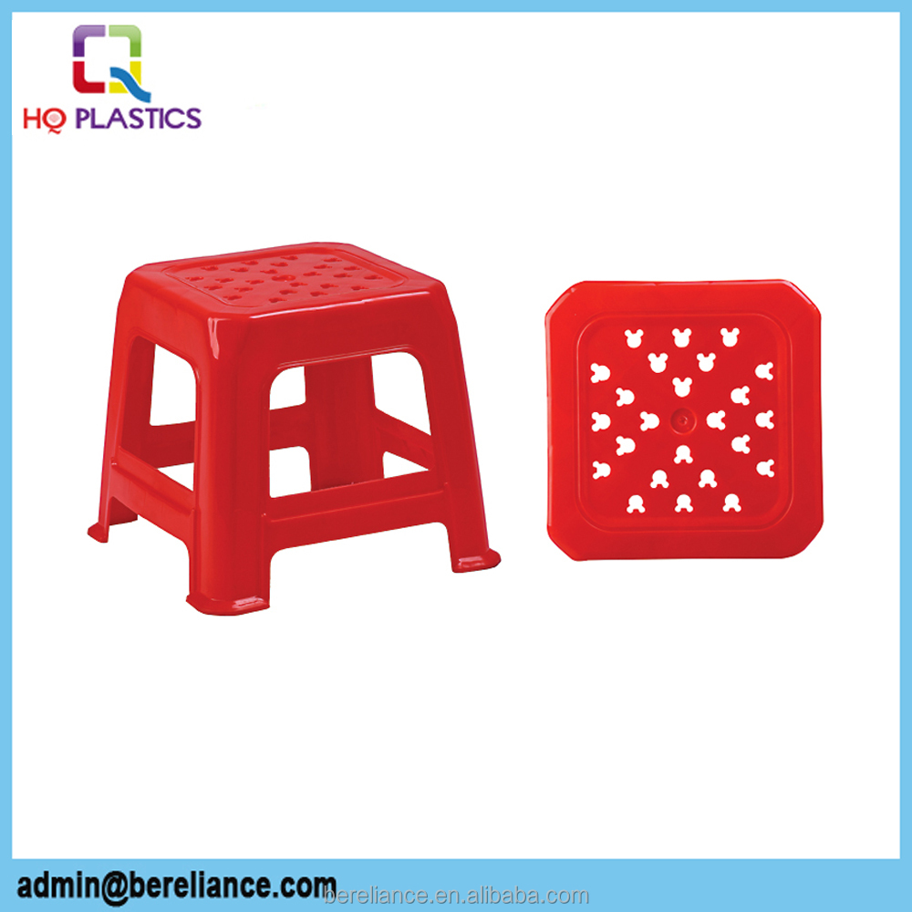 High quality colorful Eco-friendly Plastic Student Stool
