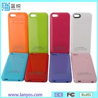 Polymer lithium battery extra battery phone case for iphone 5