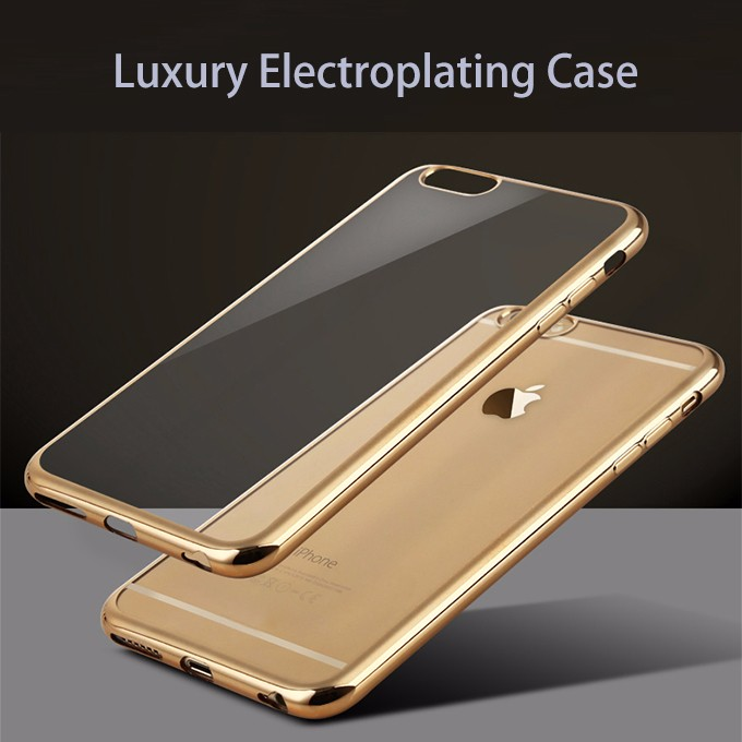 For iPhone 7 case New product TPU Soft Ultrathin electroplating Cell phone case