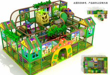 commercial playground Kids area pvc sponge and wooden strips material and indoor playground children area factory price