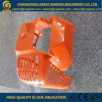 Orange Gasoline Grass Cutter Parts Engine Cover Plastic Garden Tools Parts