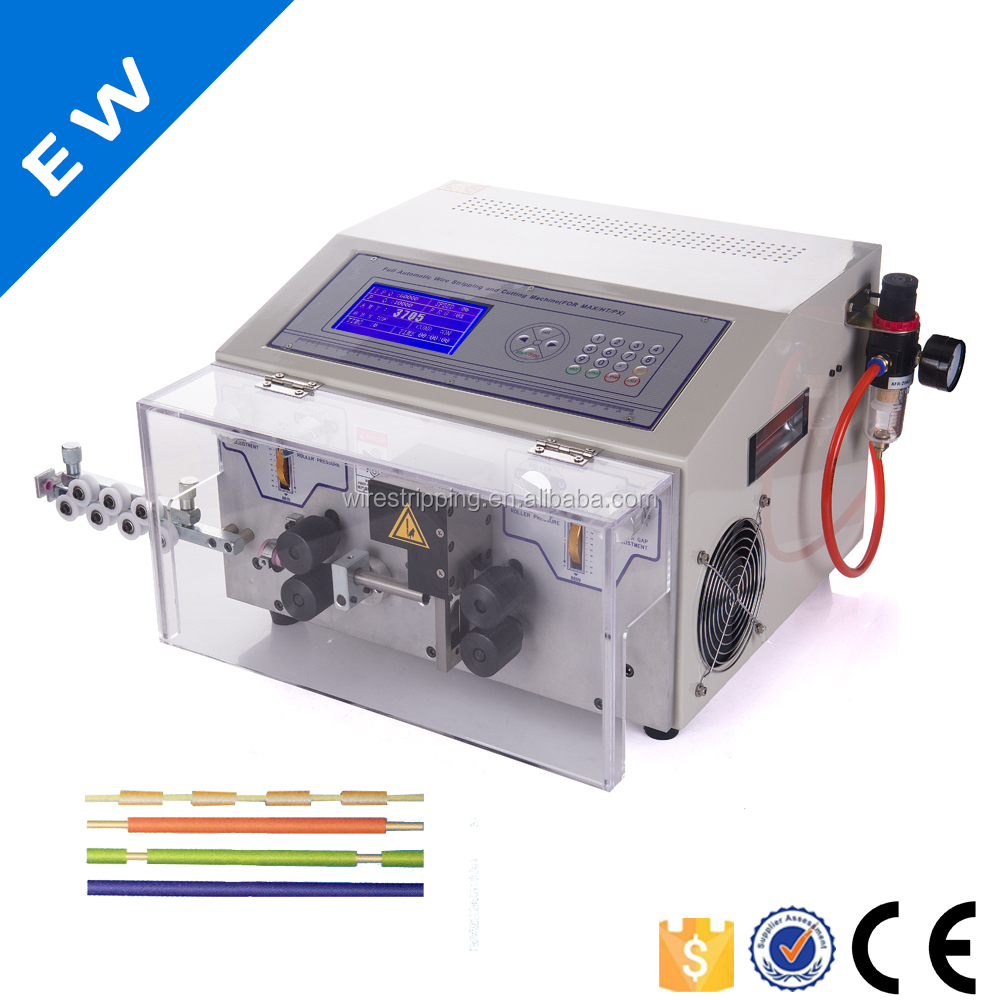 EW-05A electric wire stripper , automatic cable cutting machine