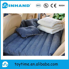 comfortable pvc inflatable single air bed, floor air bed mattress ,inflatable car travel air bed mattress