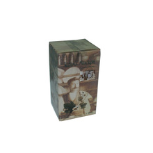 CORRUGATED CARDBOARD PAPER PACKAGING BOX FOR ONE BOTTLE WINE