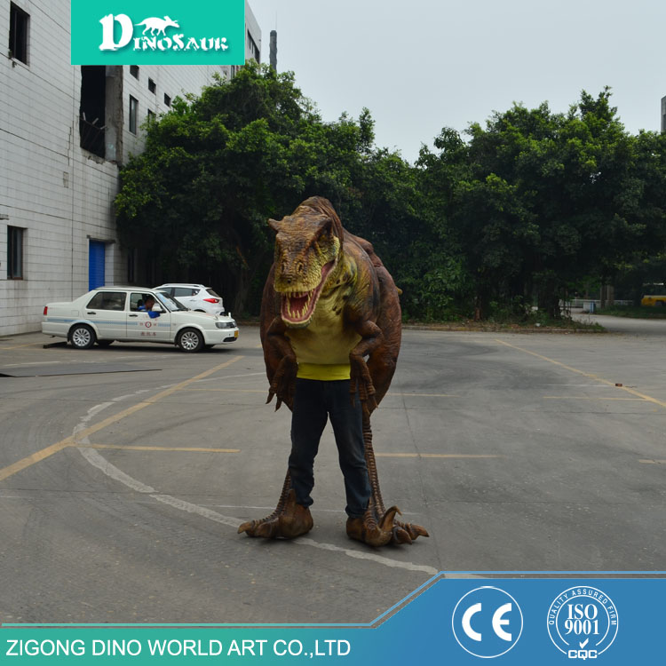 Flexible Dance Adult Dinosaur Costume Puppet