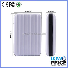 Hot sale low price and high quality modelling of luggage power bank 100000 mah