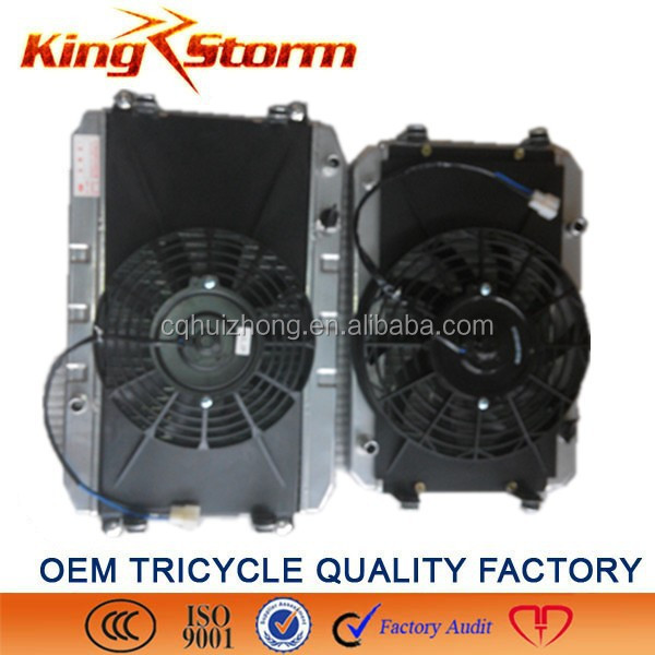 Tricycle radiator, tricycle spare part, Bajaj Tricycle spare part