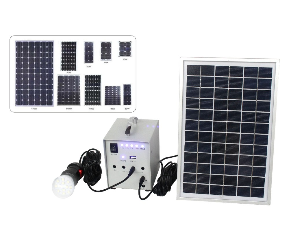 solar system 20W, 3W LED lights,Camp LED Lighting kits