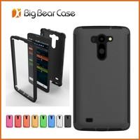 with screen protector mobile phone case for LG G Vista VS880