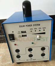 mini solar energy kit for mini home use solar power system mobile package