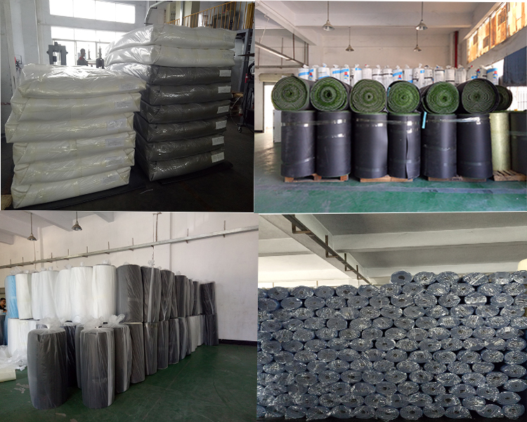 Hvac Ducting Waterproofing Material Plastic Roll Aluminum Foil Insulation Thermal Foam