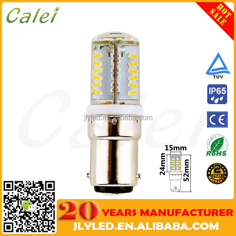 CE RoHS Approved DC10-30v 2W Boat Navigation LED Light Bulb Bay15d