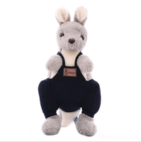 wholesale hot selling creative new kangaroo plush animal toys stuffed cute animal doll