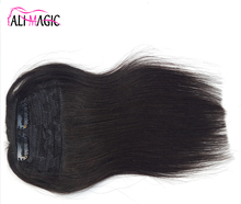 Hot Sale Long Hair Brazilian Remy Human Hair Bangs With Bangs 25cm 25G Factory Outlet