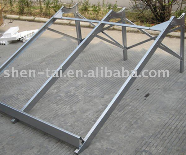 low angel stand frame of shentai solar water heater