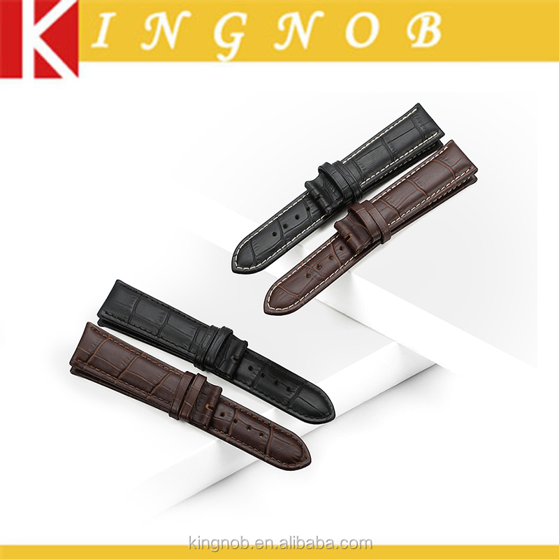 14 16 18 19 20 21 22 24 mm Calf Leather Watch Band Strap