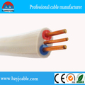 1.0mm1.5mm2.5mm4mm6mm10mm colored pvc copper conductor twin and earth cable/electric cable/vga cable