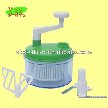 XBX101 salsa wonder/manual vegetable chopper/multi vegetable slicer