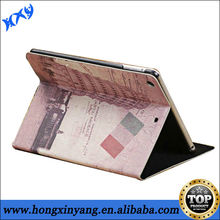 Retro Eiffel Tower Pattern PU Leather Case For iPad 2 3 4 With Stand.