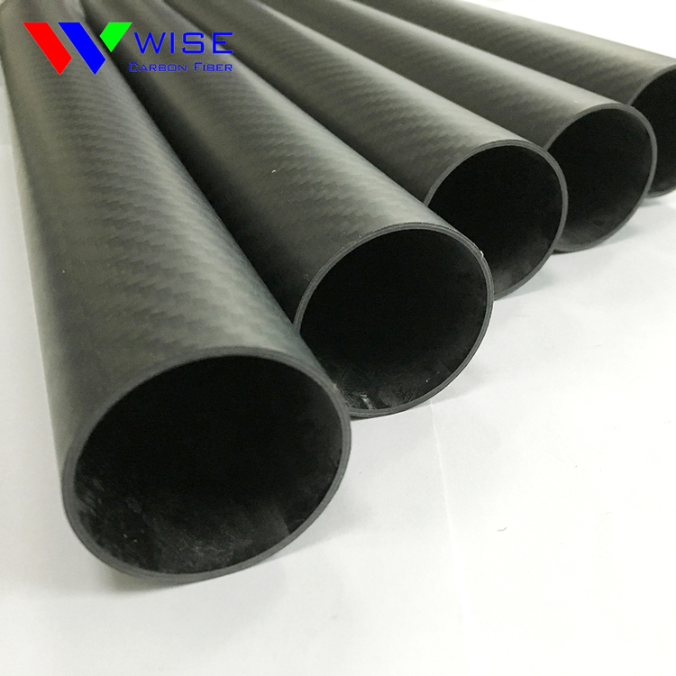 Cutting cnc cutting carbon fiber tubes, carbon fiber pipes with machine serive