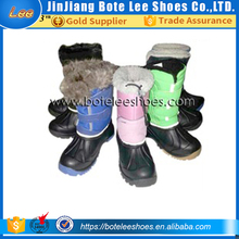 eva boots rain boots antiskid fur lining snowboots with tpr outsole