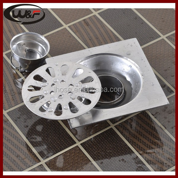 4inch stainless steel floor drain for bathroom