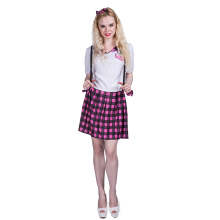 costume wholesale Sexy School Girl Student Uniform Nerd cosplay costumes for party