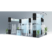 3*6 modular aluminum trade show exhibition display booth stand
