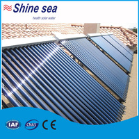 Greenhouse evacuated glass tube thermal solar collector