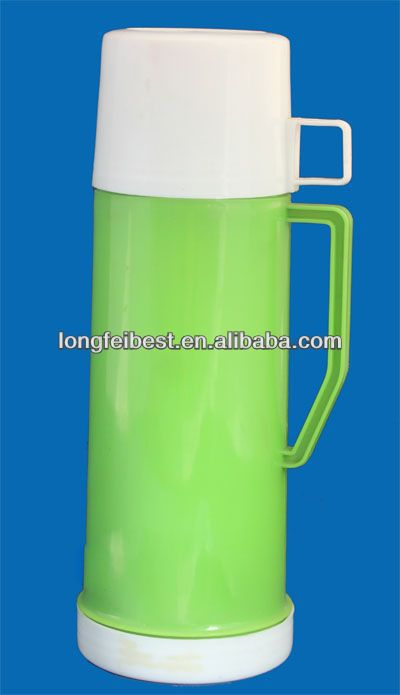 0.45L plastic tiger vacuum flask with cup