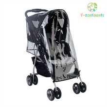 Waterproof Baby Infant Children Stoller Rain Cover also for Wind Dust Shield