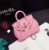 Fashion PU leather women girls PU shoulder fashion Tote Bag Carried on Shoulder