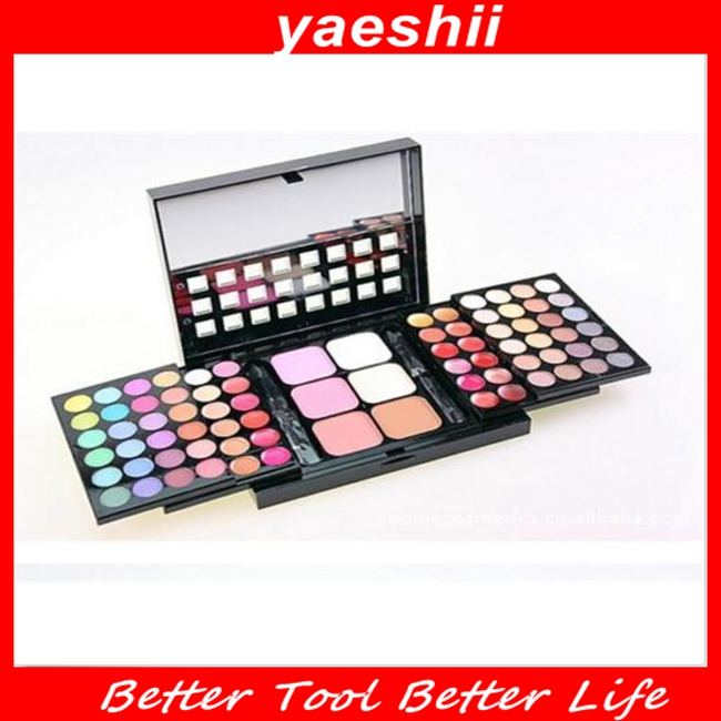 YAESHII popular commodity 78color eyeshadow palette for 2016
