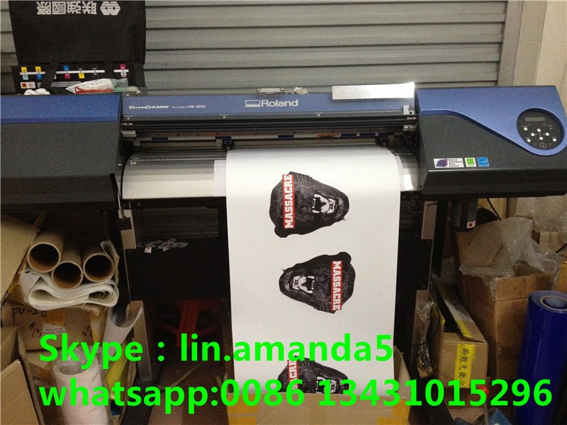 Textile flex heat press vinyl