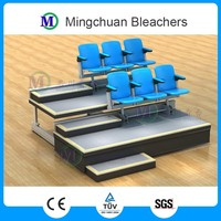 Athens Retractable Grandstand Bleachers Rear Seat